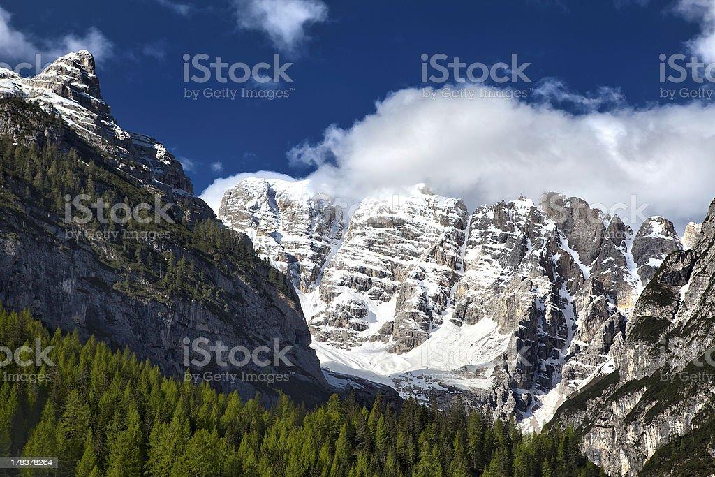 Monte Cristallo stock photo