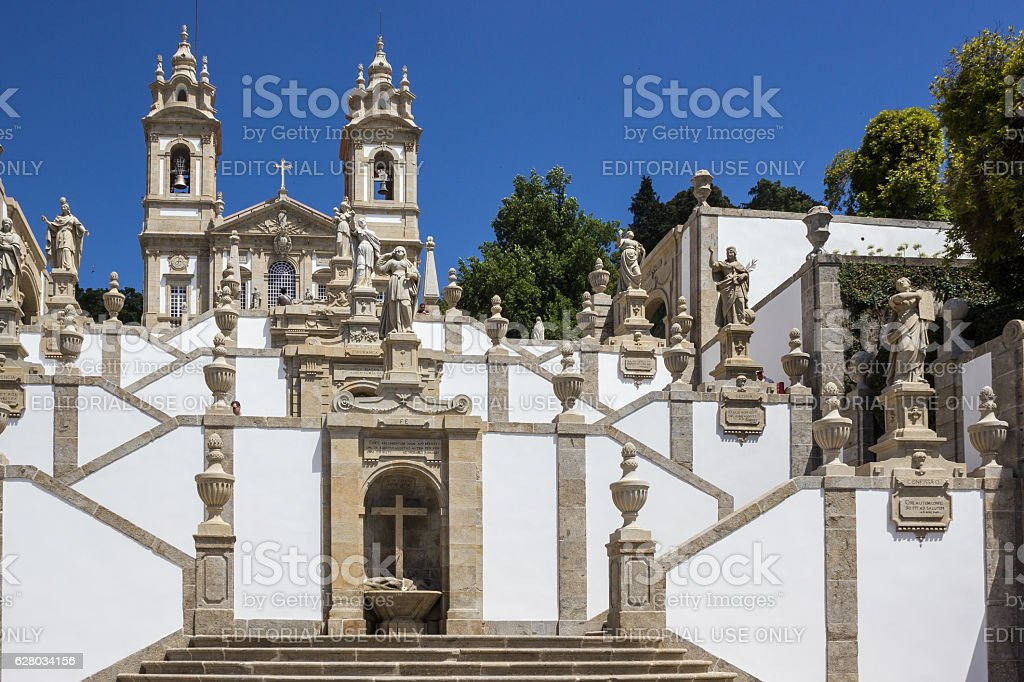 Monte do Bom Jesus royalty-free stock photo