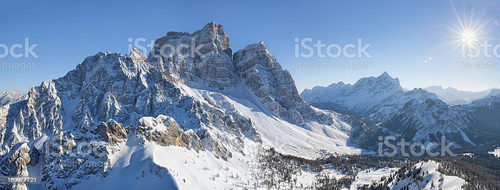 Monte Pelmo royalty-free stock photo