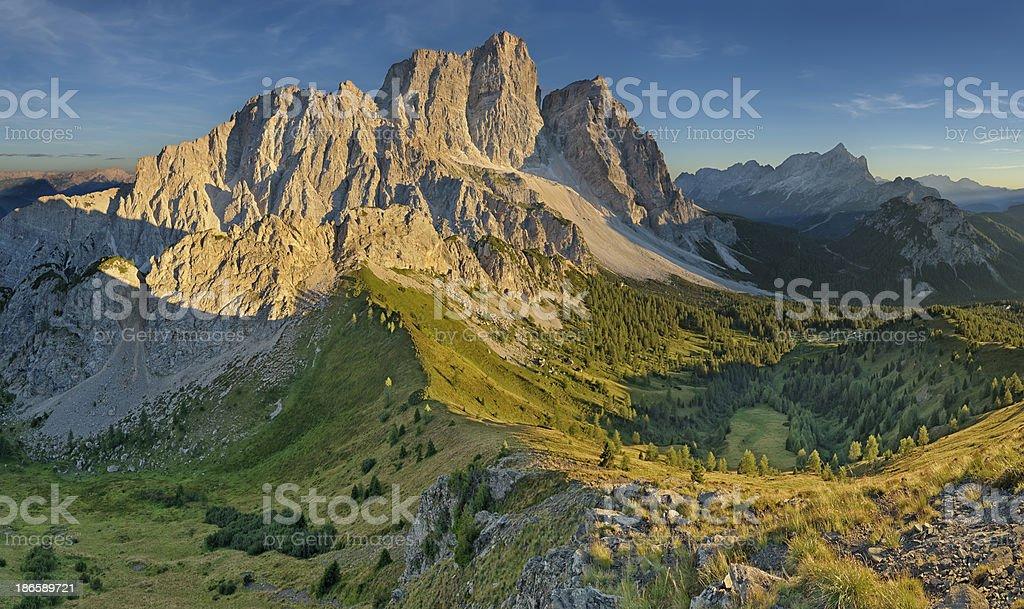Monte Pelmo (Dolomiti) royalty-free stock photo