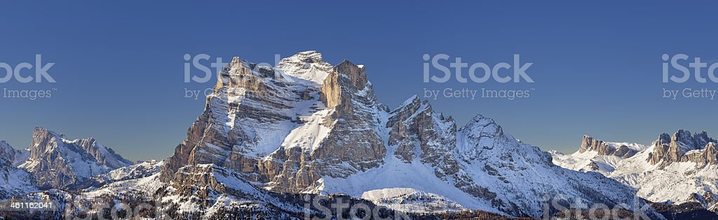 Monte Pelmo stock photo