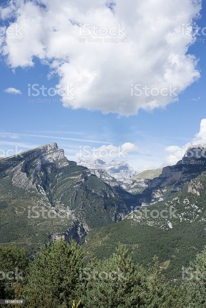 Monte Perdido National Park royalty-free stock photo