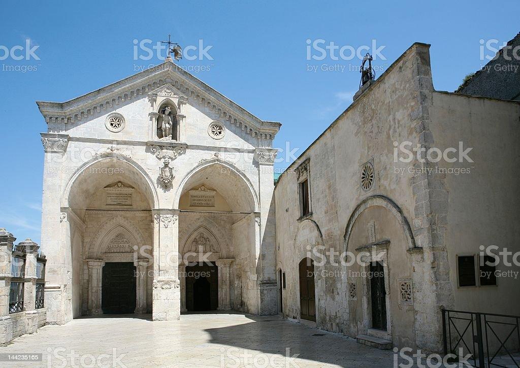 Monte Sant'Angelo stock photo