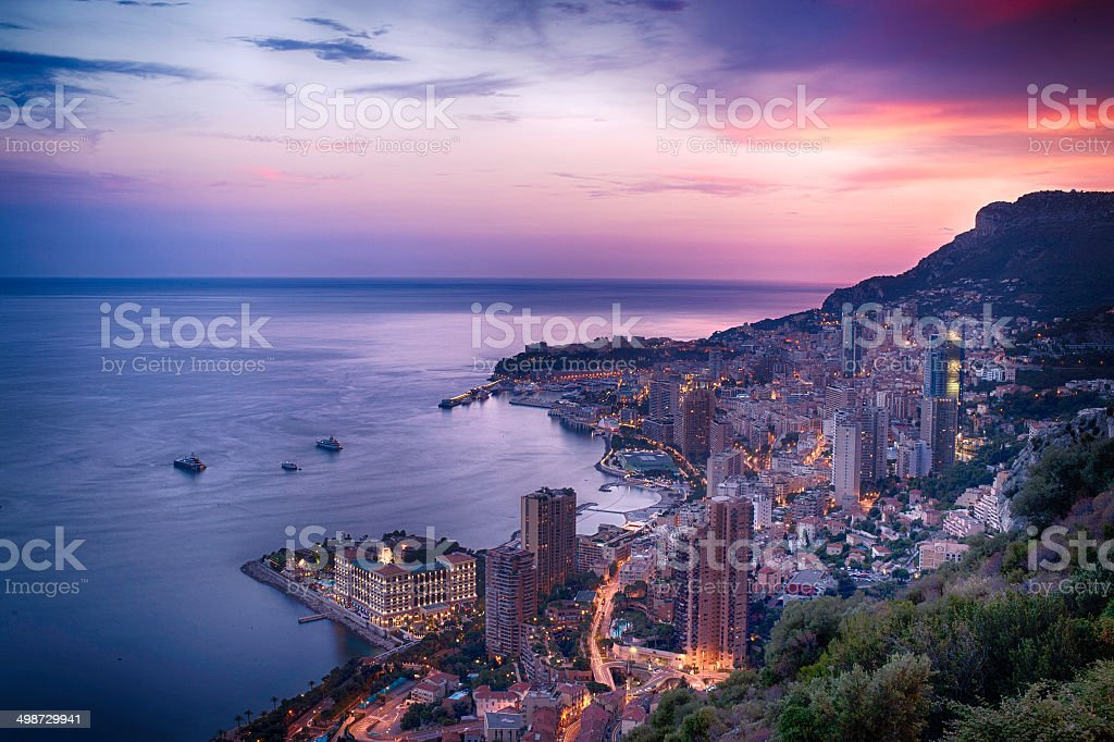 Montecarlo By Bight stock photo