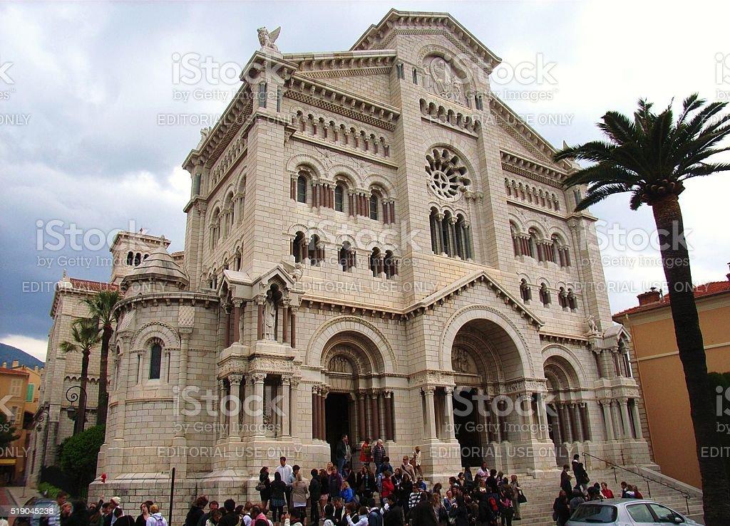 Montecarlo - Cattedrale stock photo