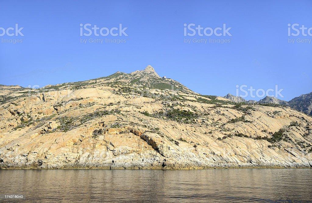 Montecristo landscape royalty-free stock photo