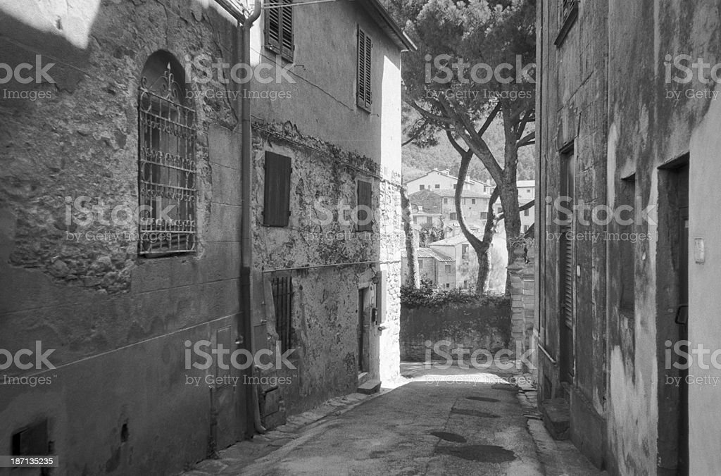 Montemagno, Calci, Pisa stock photo