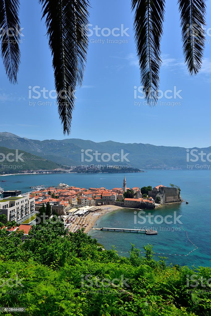 Montenegro, Budva stock photo