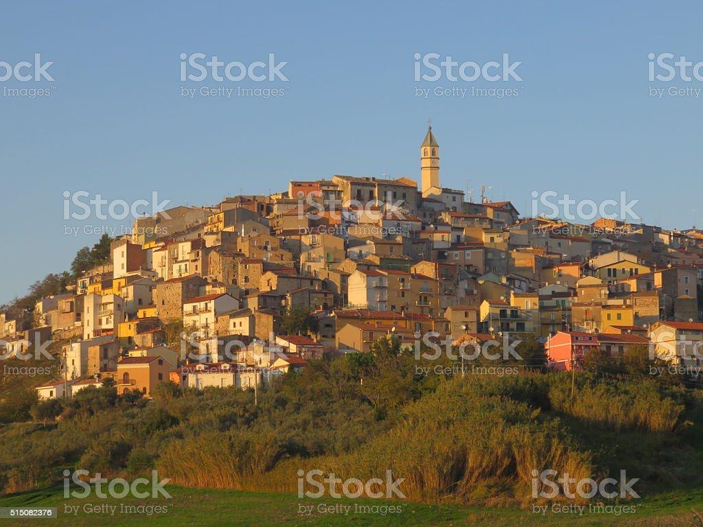Montenero di Bisaccia stock photo