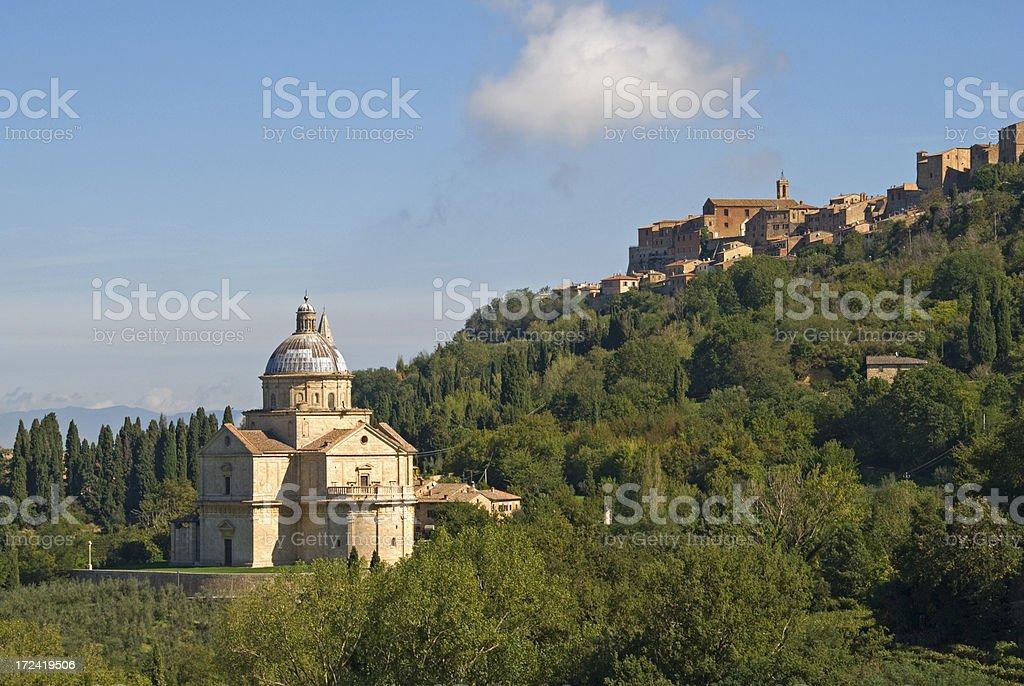 Montepulciano royalty-free stock photo