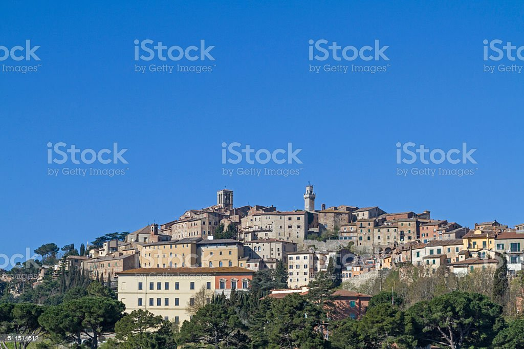 Montepulciano stock photo