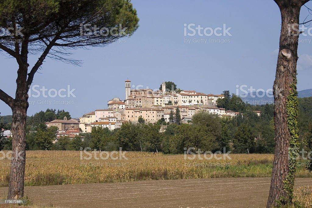 Monterchi Tuscany 2 stock photo