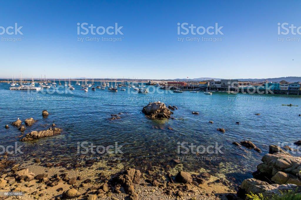 Monterey Bay in Pacific Grove - Monterey, California, USA stock photo