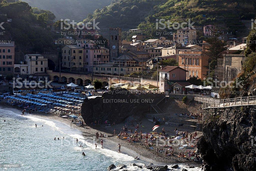 Monterosso al Mare royalty-free stock photo