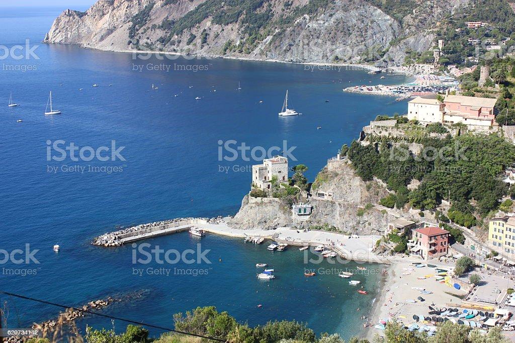 Monterosso al Mare stock photo