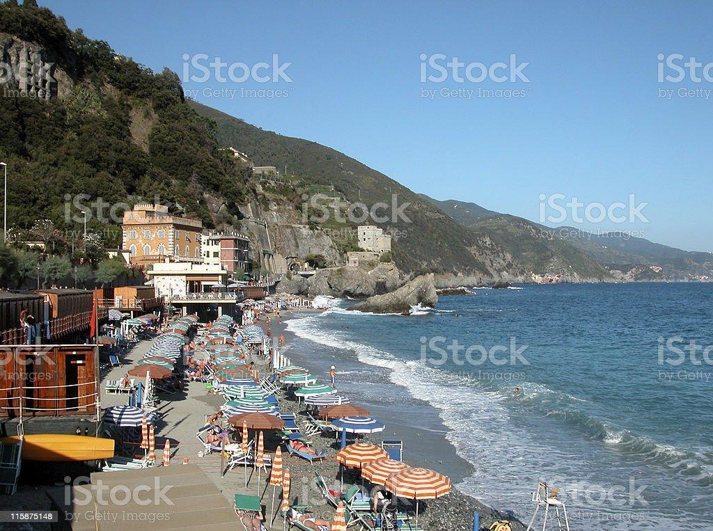 Monterosso Cinque Terre Italy royalty-free stock photo