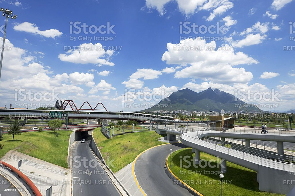 Monterrey infrastructure stock photo