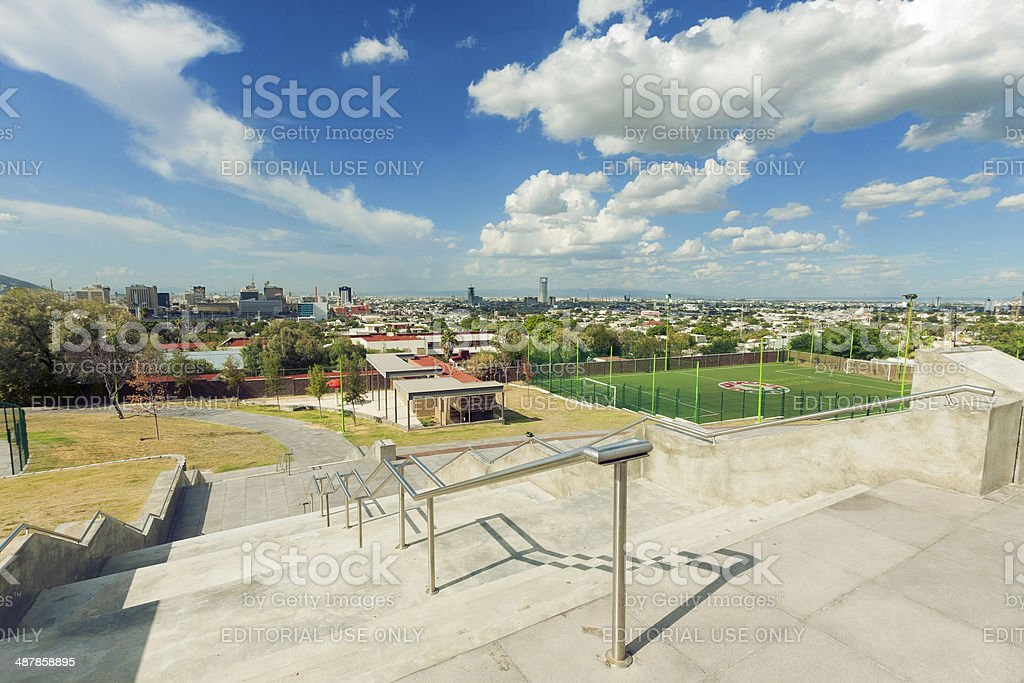Monterrey Panoramic stock photo