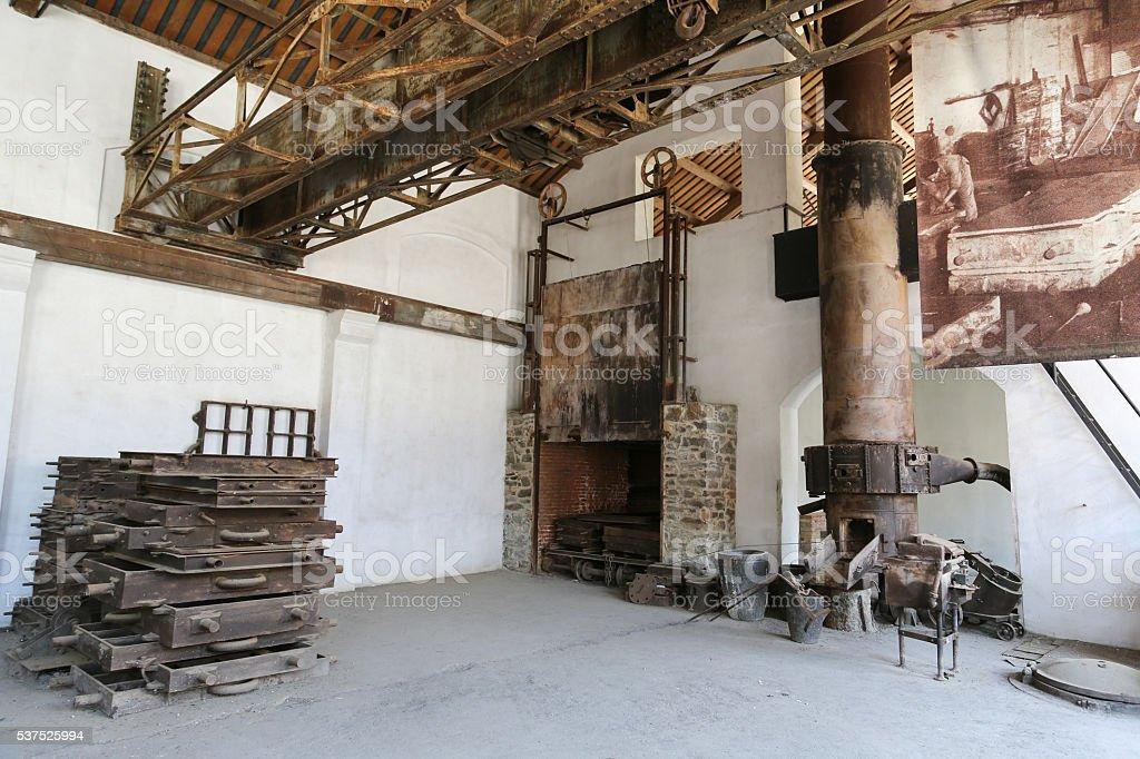 Montevecchio Mine Sardinia stock photo
