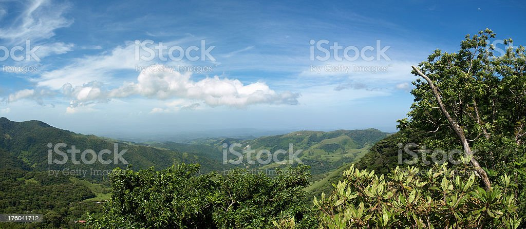 Monteverde cloud forest stock photo