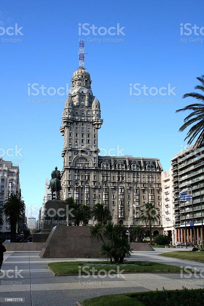 Montevideo royalty-free stock photo