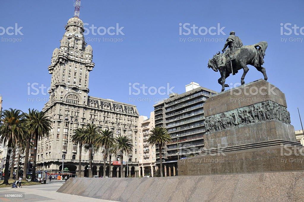 Montevideo stock photo