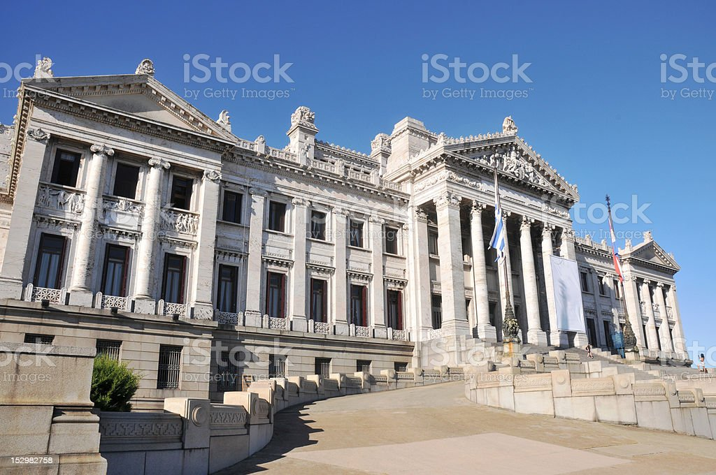 Montevideo stock photo