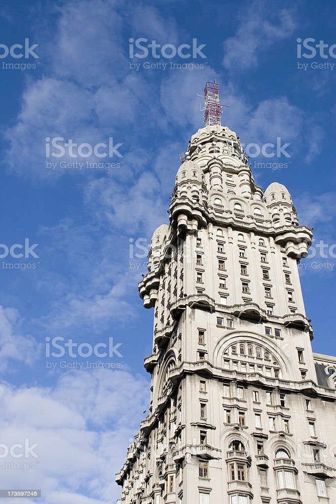 Montevideo: Salvo Palace royalty-free stock photo