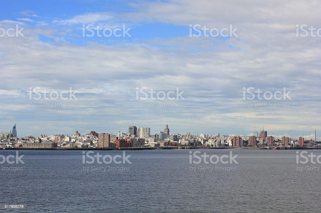 Montevideo Skyline stock photo