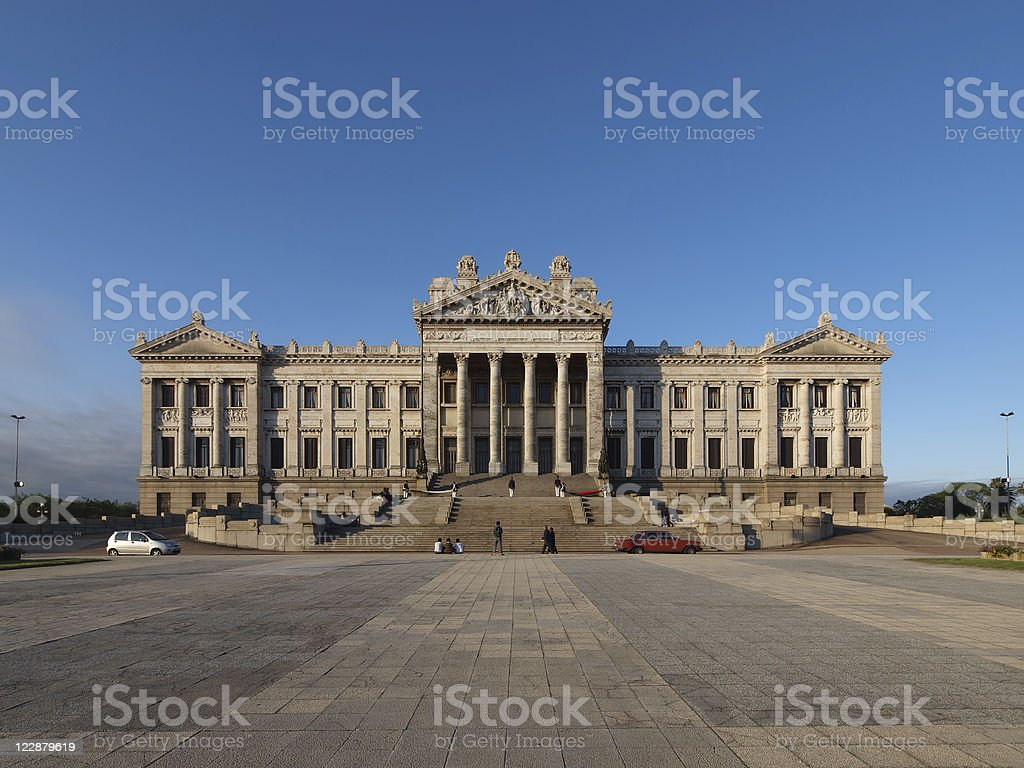 Montevideo, Uruguay Parliament Building royalty-free stock photo