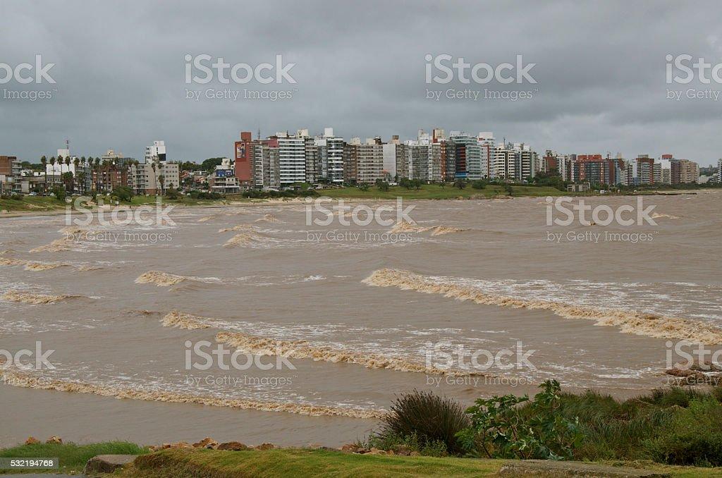 Montevideo Uruguay stock photo
