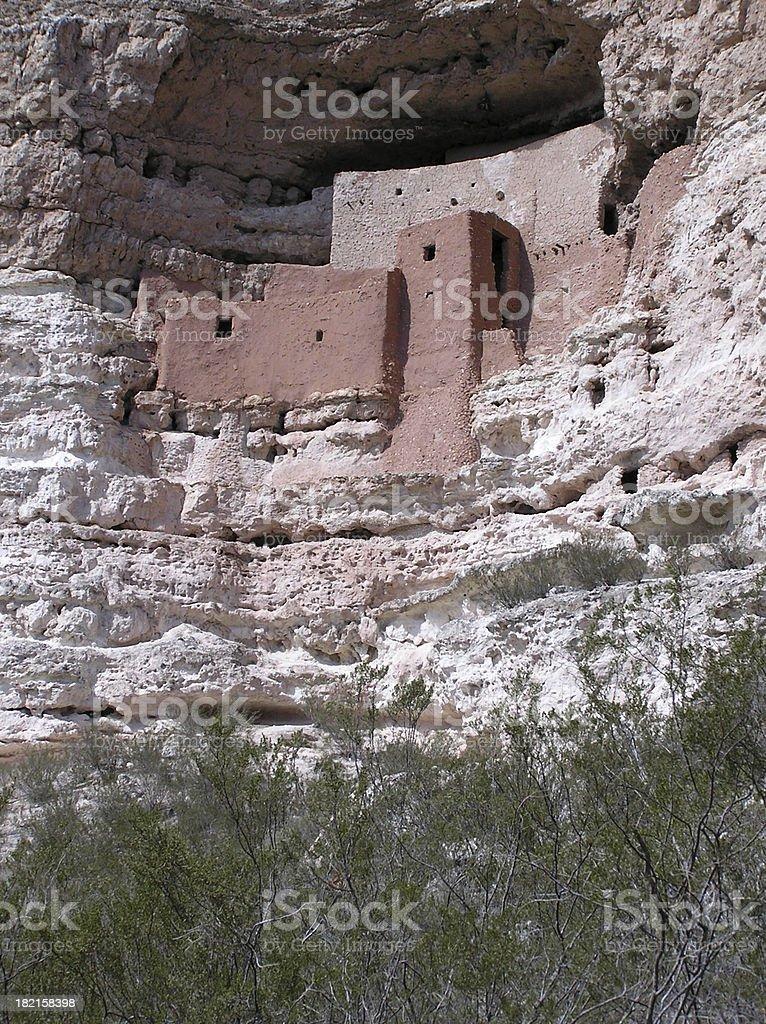 Montezuma Castle royalty-free stock photo