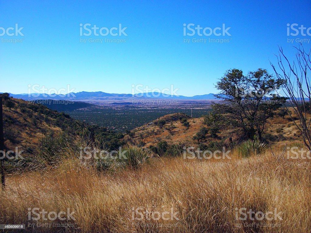 Montezuma Pass stock photo