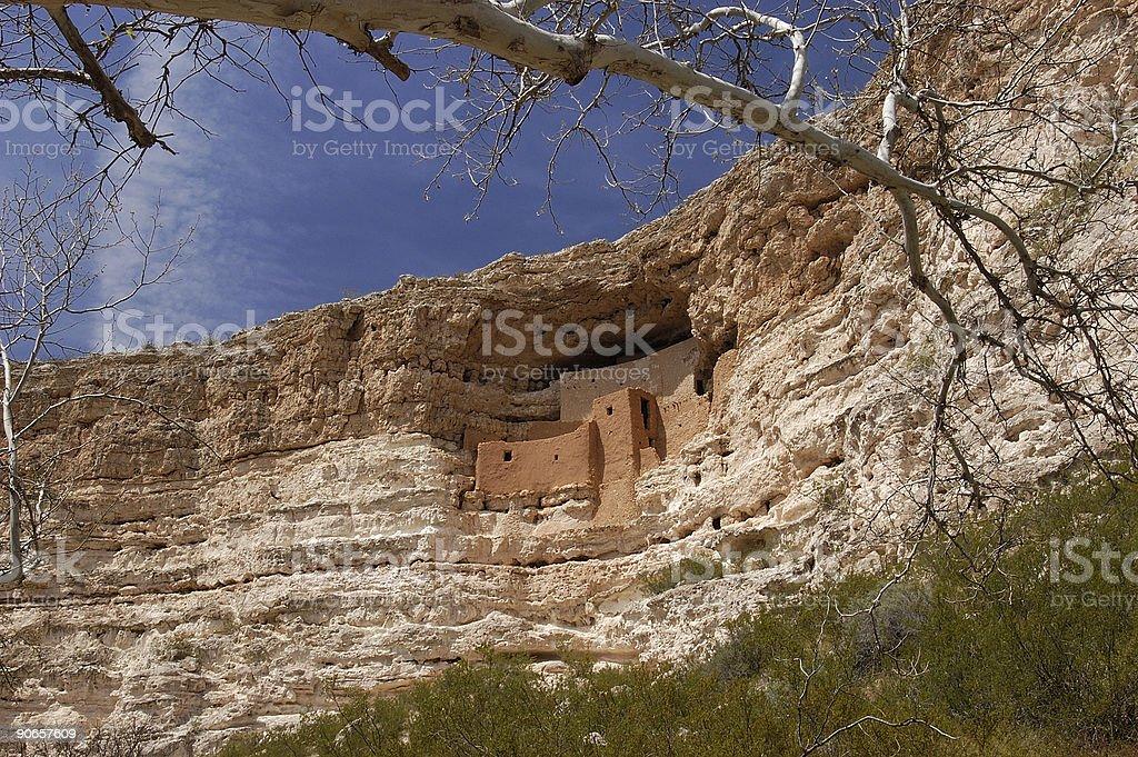 Montezuma's Castle National Monument royalty-free stock photo