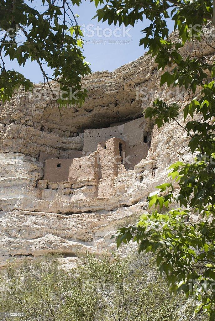 Montezuma's Castle royalty-free stock photo