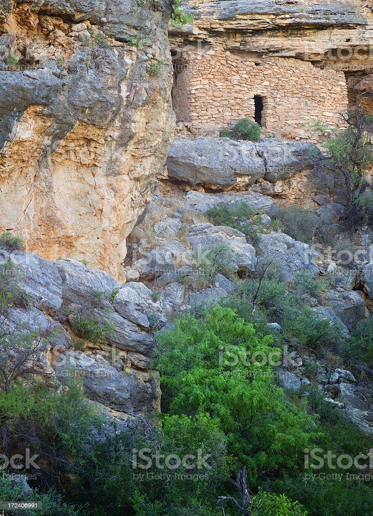 Montezumas Well - Montezuma Castle National Monument royalty-free stock photo
