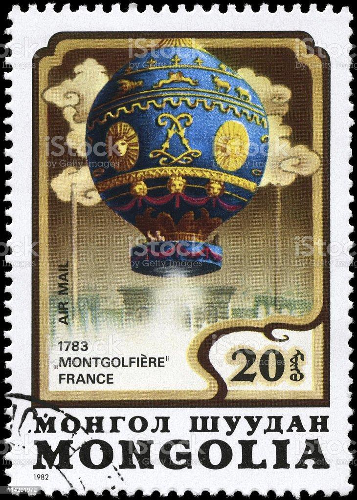 Montgolfier stock photo