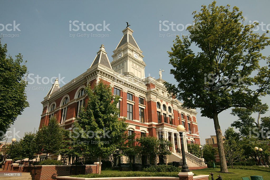 Montgomery County Courthouse Tennessee stock photo