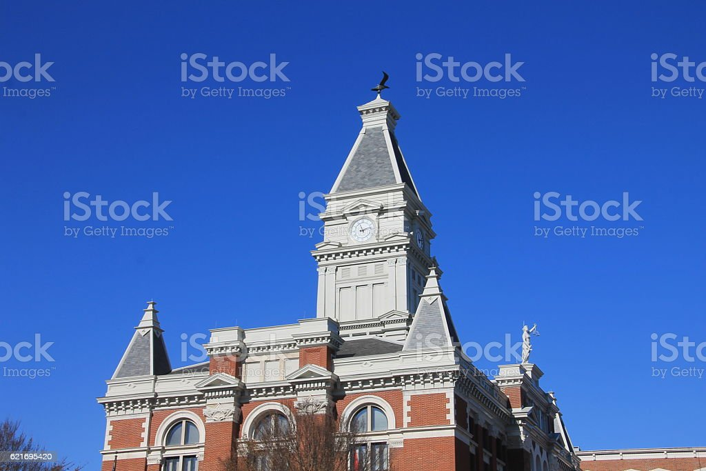 Montgomery County Tennessee Courthouse stock photo