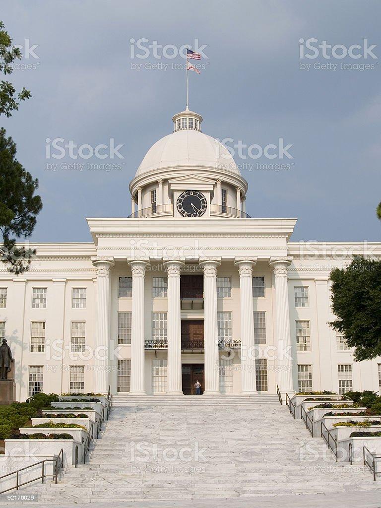 Montgomery State House, Alabama royalty-free stock photo