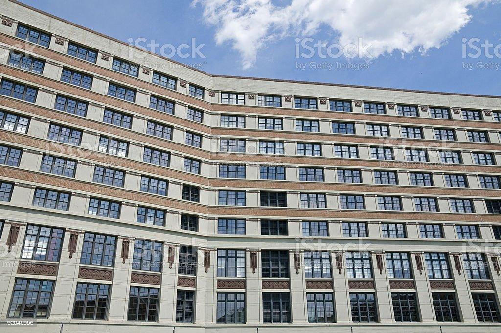 Montgomery Ward & Co. Catalog House, Chicago stock photo