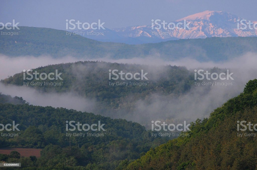 Month of May in the Balkans stock photo