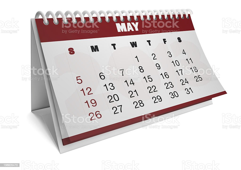 month of may royalty-free stock photo
