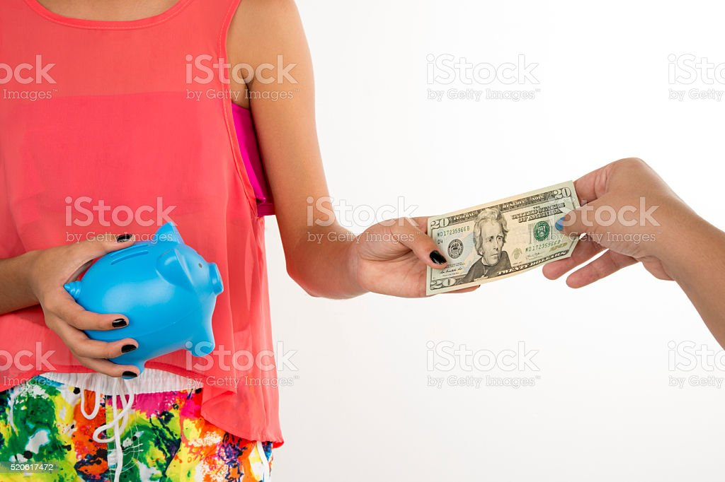 month pay stock photo