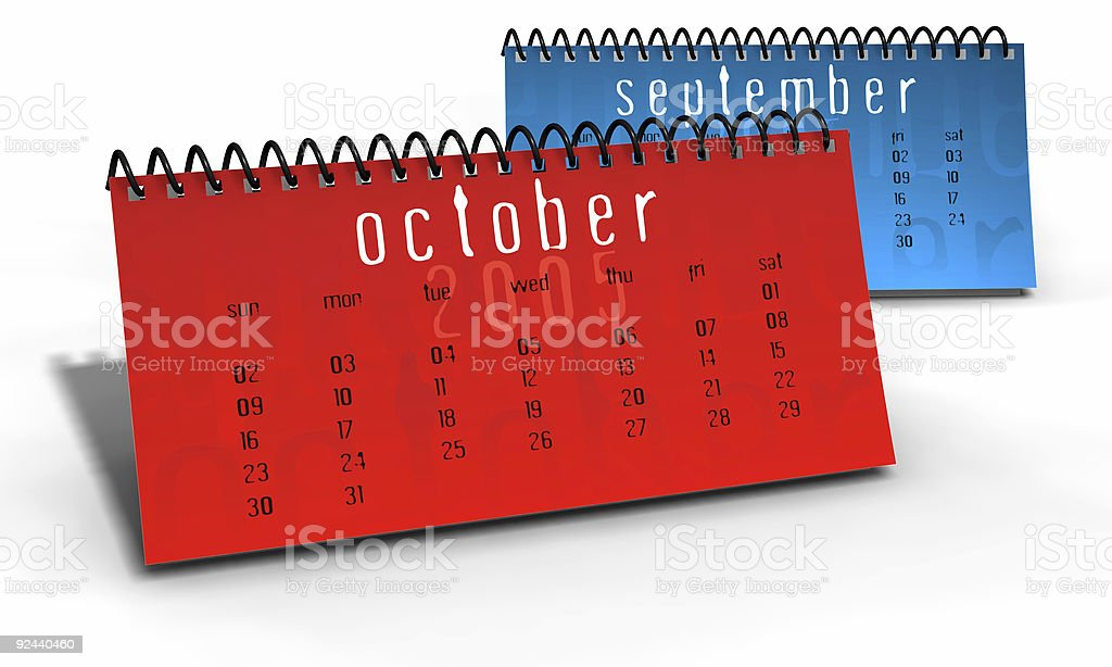 month planners stock photo