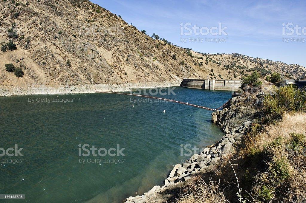 Monticello Hydroelectric Dam stock photo