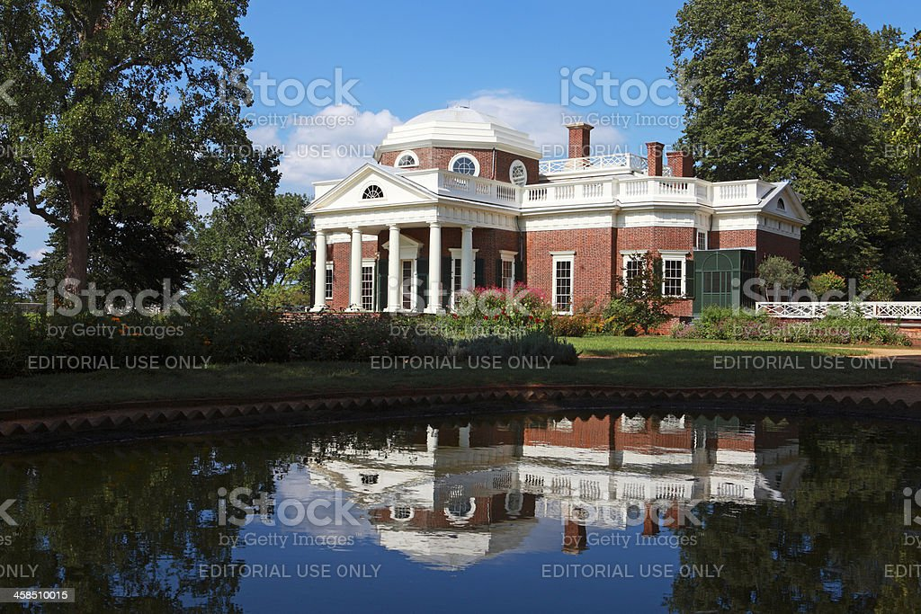 Monticello stock photo