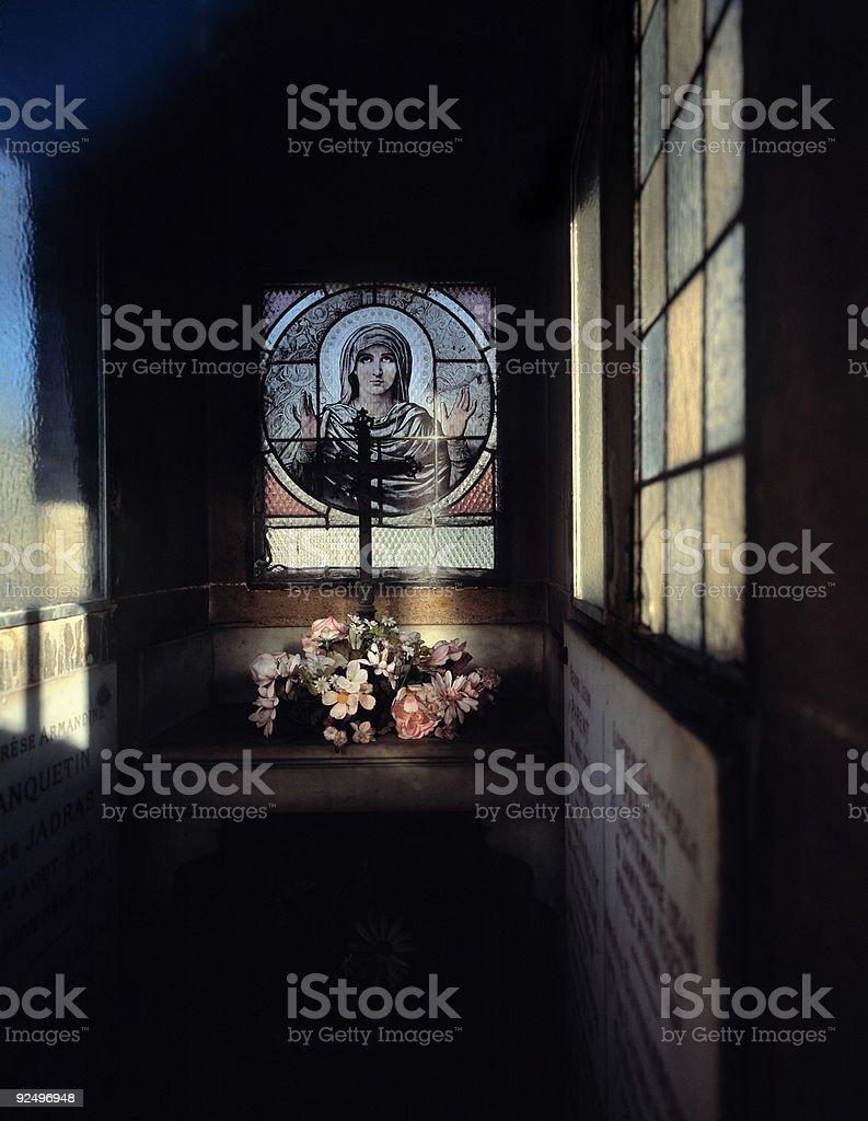 Montmartre cemetery, Paris, France. royalty-free stock photo
