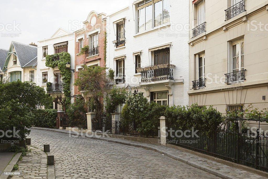 Montmartre Cityscape stock photo