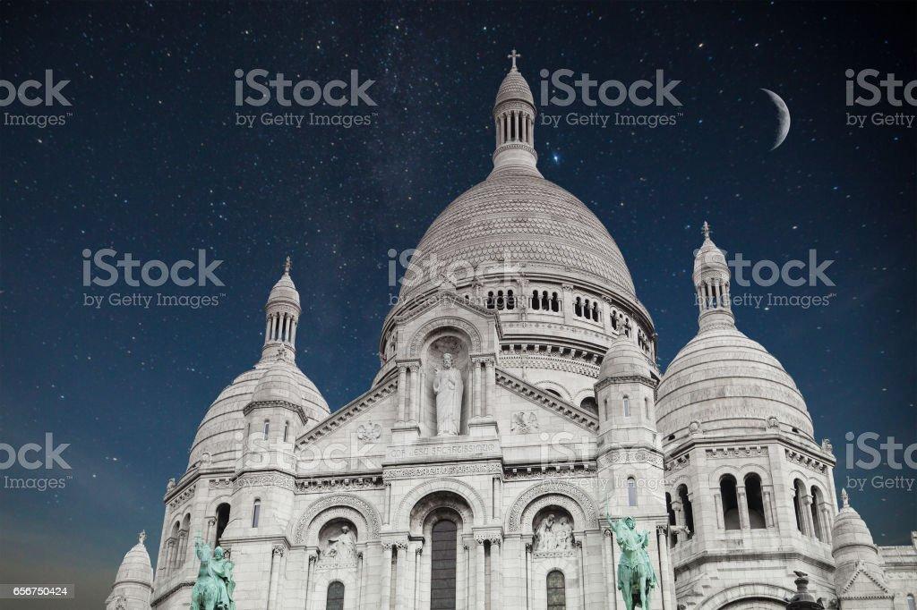 Montmartre Paris. stock photo